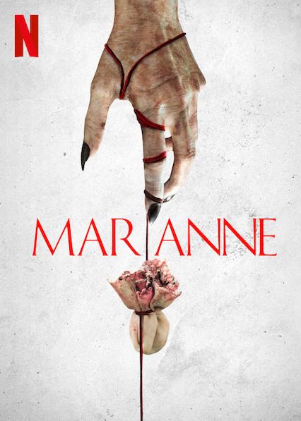 Marianne serie Netflix - poster