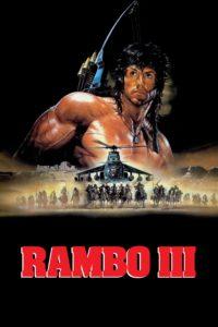 Rambo III film poster