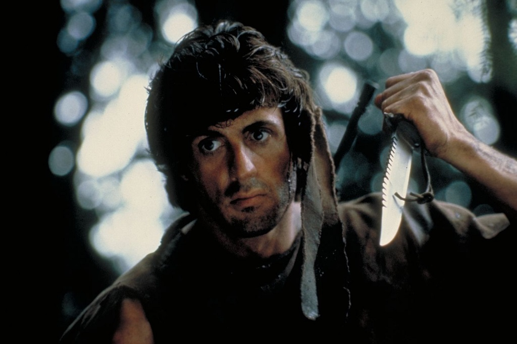 Sylvester stallone rambo 1982