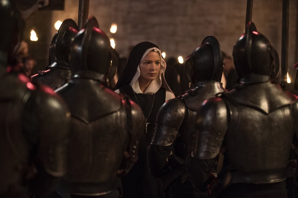 Virginie Efira in Benedetta (2020) blessed virgin