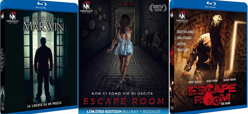 escape room trilogy blu-ray