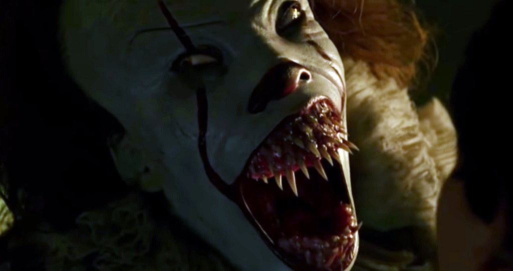 pennywise it film bocca