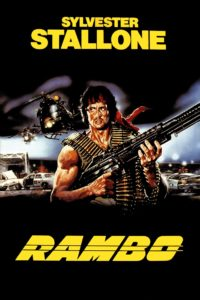 rambo 1982 film stallone poster