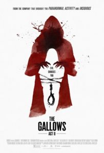 the gallows - act 2 film poster