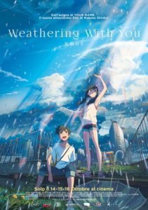 weathering with you film poster ita