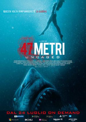 47 metri uncaged poster