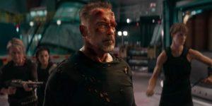 Arnold Schwarzenegger in Terminator Destino Oscuro