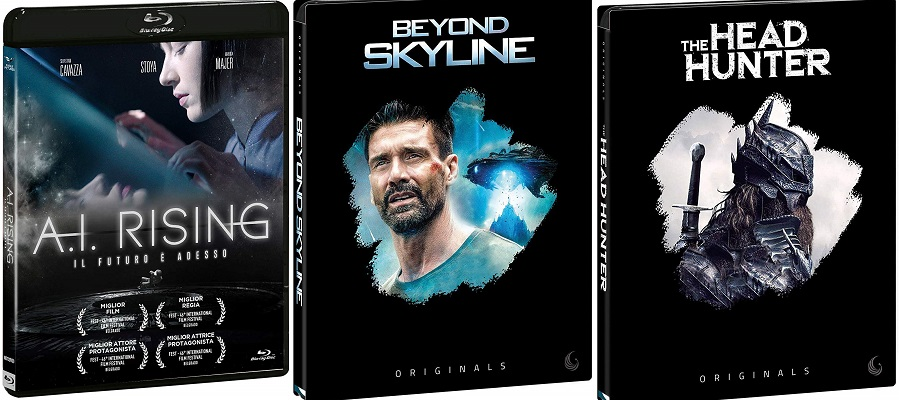 Blu-ray ita Beyond Skyline - A. I. Rising - The Head Hunter