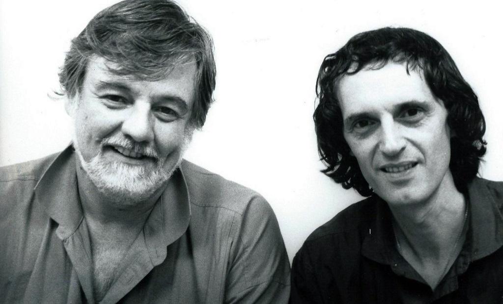Dario Argento e George A. Romero set