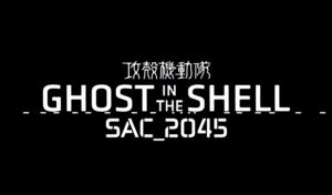 Ghost in the Shell Sac 2045 poster Netflix