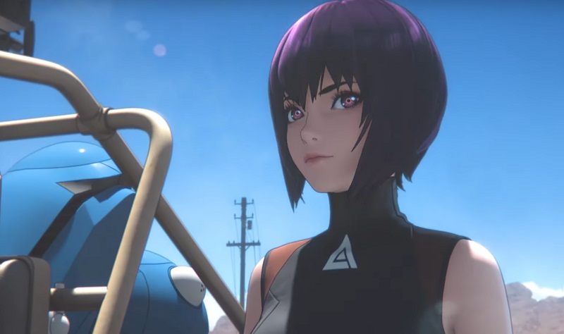 Ghost in the Shell Sac 2045 serie Netflix