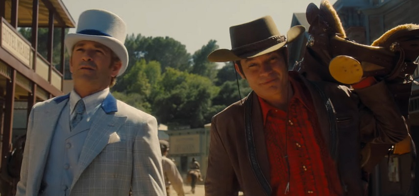 c'era una volta a hollywood Luke Perry e Timothy Olyphant scena tagliata