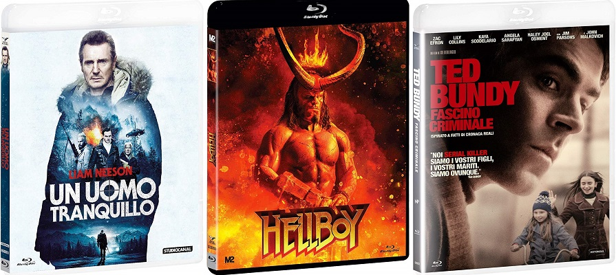 hellboy uomo tranquillo ted bundy bluray ita