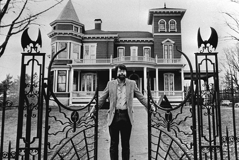 stephen king maine bangor casa