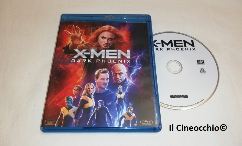 x-men dark phoenix bluray ita