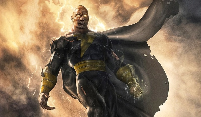 Black Adam film poster 2021