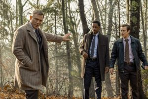 Daniel Craig, Noah Segan e LaKeith Stanfield in Knives Out (2019)
