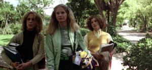 Jamie Lee Curtis, P.J. Soles e Nancy Kyes in Halloween (1978)