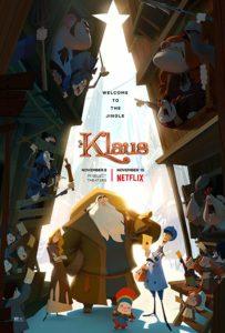 Klaus I segreti del Natale poster film netflix