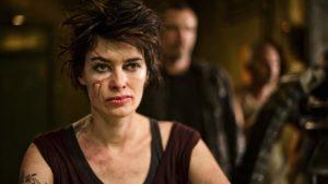 Lena Headey in Dredd (2012) film