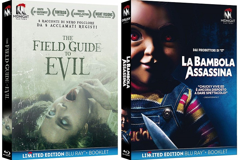 la bambola assassina 2019 + the field guide to evil bluray