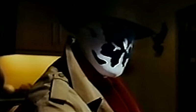 watchmen David Hayter 2003 test footage Rorschach
