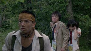 Battle Royale 2000 film Tatsuya Fujiwara, Aki Maeda e Tarô Yamamoto