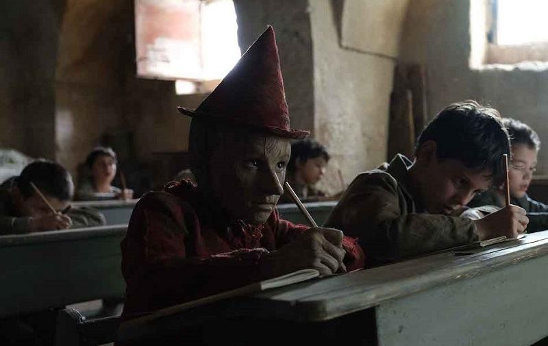 Federico Ielapi in Pinocchio (2019) film