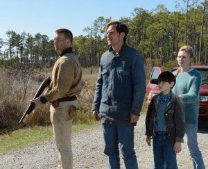 Kirsten Dunst, Joel Edgerton, Michael Shannon e Jaeden Martell in Midnight Special (2016)