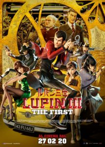 Lupin III - The First - Poster Ufficiale Italiano