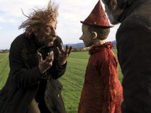 Massimo Ceccherini e Federico Ielapi in Pinocchio (2019) film