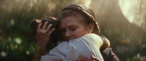 Star Wars L'Ascesa di Skywalker film Carrie Fisher