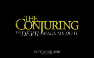 The Conjuring The Devil Made Me Do It film poster