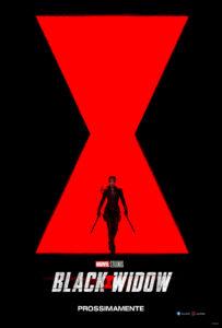 black widow film 2020 poster ita