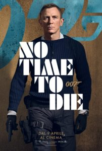 bond 25 no time to die film poster