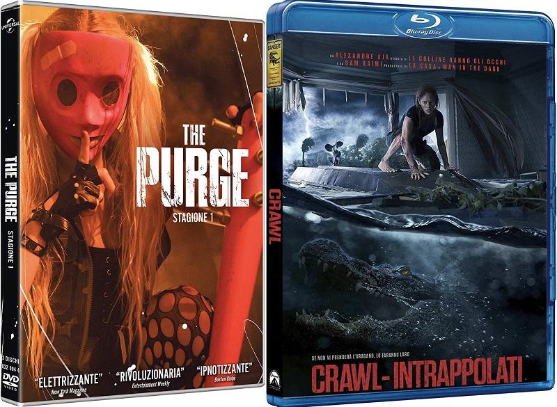crawl intrappolati + the purge home video ita