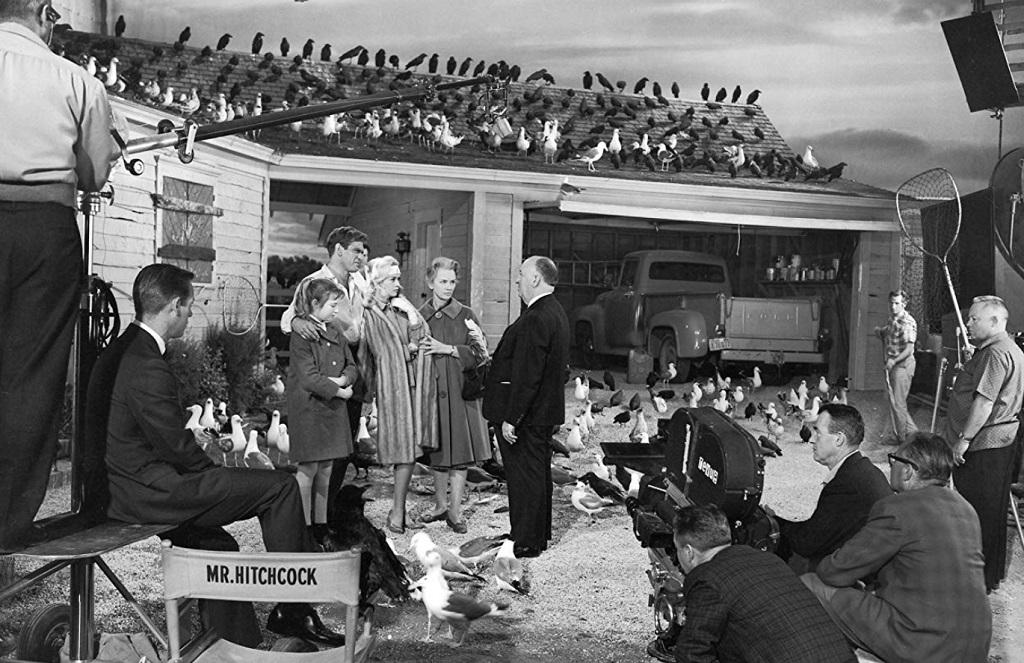 gli uccelli film set 1963