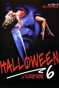 halloween 6 - la maledizione film poster