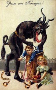 il krampus folklore