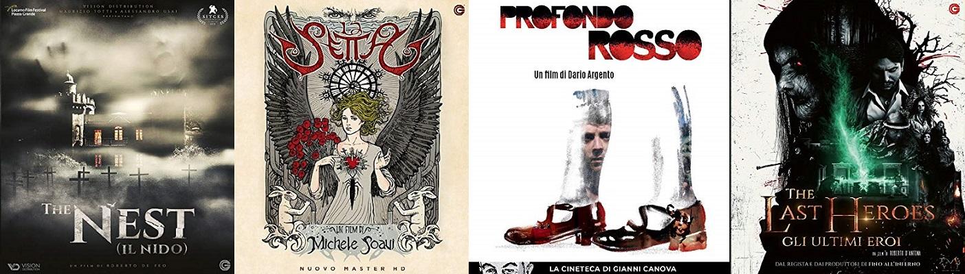 profondo rosso + la setta + the nest + the last heroes bluray ita