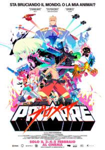 promare film poster ita