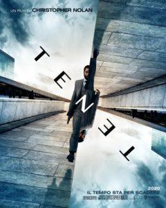 tenet film poster nolan 2020