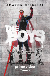 the boys serie amazon poster