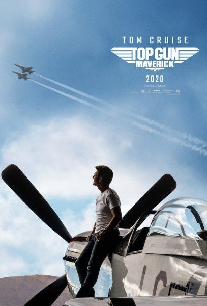 top gun mavercik film poster