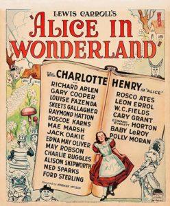 Alice nel paese delle meraviglie (1933) film poster