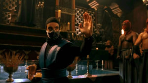 François Petit in Mortal Kombat (1995) sub-zero