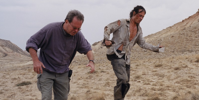 Johnny Depp e Terry Gilliam in Lost in La Mancha (2002)