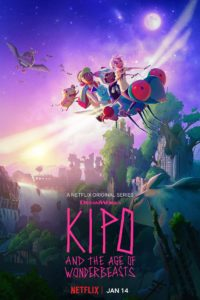 Kipo and the Age of Wonderbeasts serie netflix poster
