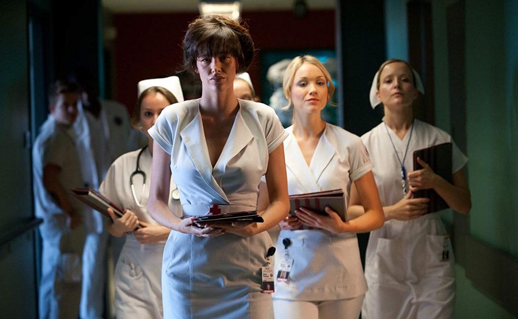 Paz de la Huerta in Nurse 3-D (2013) film