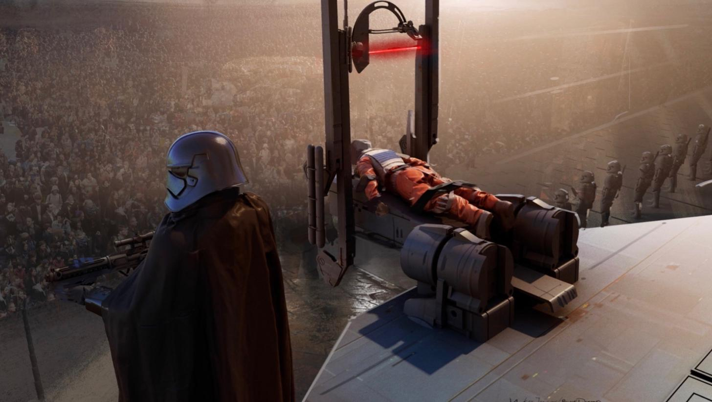 Star Wars Episodio IX Duel of the Fates concept